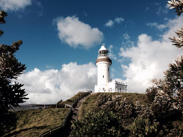 Morning run up the lighthouse in Byron. Love this place