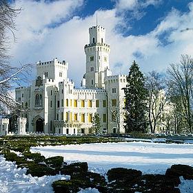 Hochzeits-Schloss: Castle Hluboka – Prag, Tschechische Republik