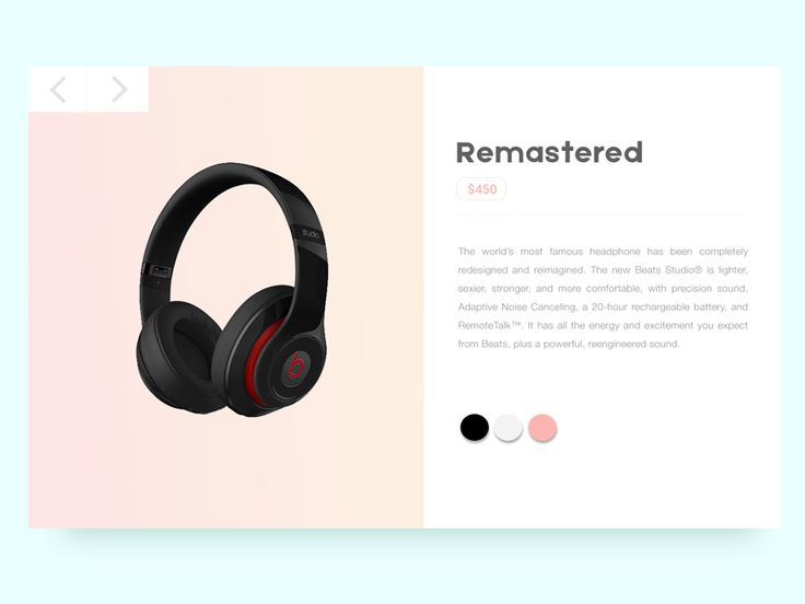 Beats Product Preview by Muhamad Reza Adityawarman