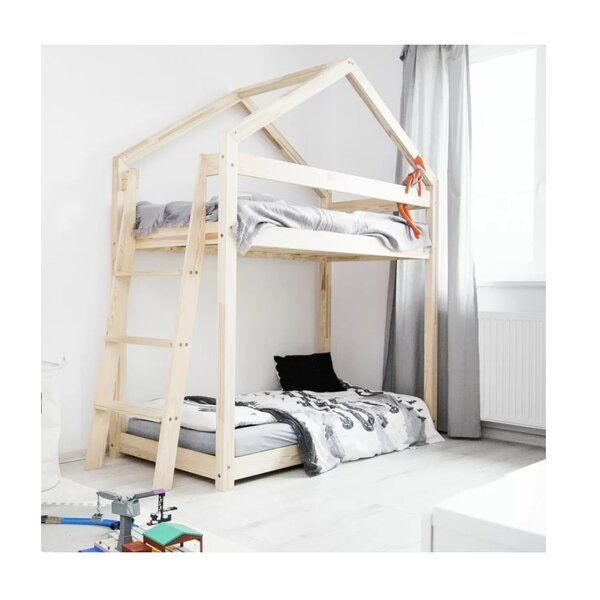 Drawers Wooden Bunk Beds
