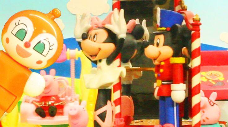 アンパンマンおもちゃアニメ ダンス教室