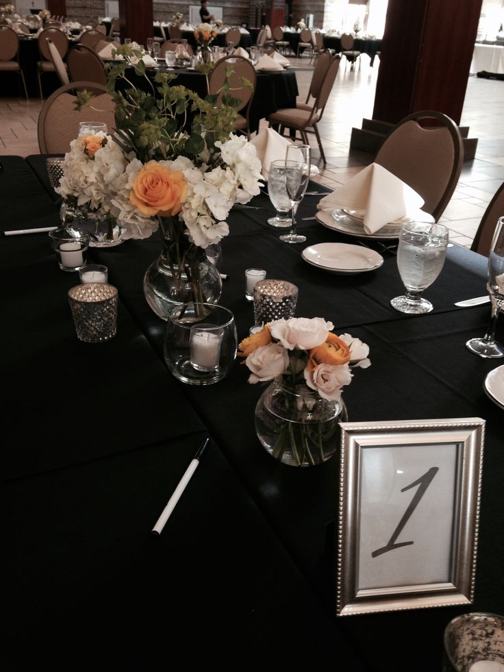Floral Centerpiece For Tuscan Table