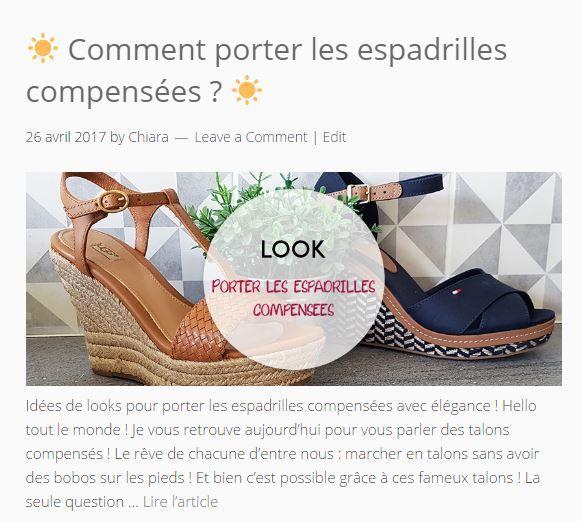 Porter des espadrilles compensées cet été ! #espadrilles #chaussures #shoes #shoe #chaussure #summer #spring #look #ootd #beautiful #sandale #ugg #blog #tommyhilfiger #tommy #photo #chaussuresonline #blogger #france #compenses #talons