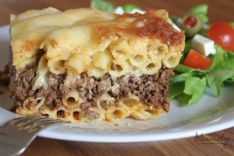 Pastitsio main dishes