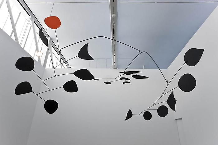 Alexander Calder's kinetic sculptures fascinate me!