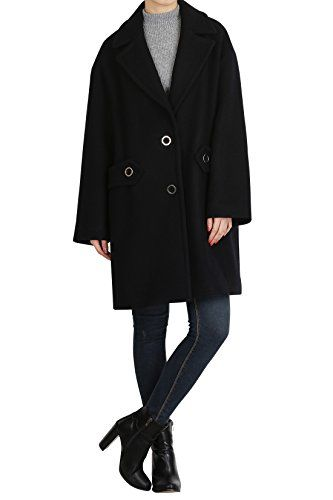 Hipsteration Womens Solid Color PeaCoat With Ring Button Beige, M Hipsteration http://www.amazon.com/dp/B01AS61IFQ/ref=cm_sw_r_pi_dp_n3eOwb04TXZAW
