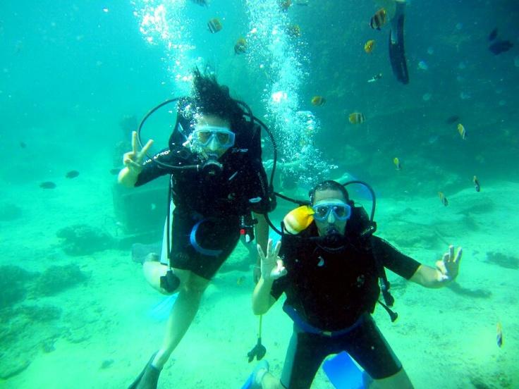 Diving at Tanjung Benoa, Bali - Indonesia