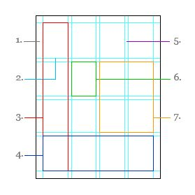 simple explanation. graphic design grid, by Troy Templeman