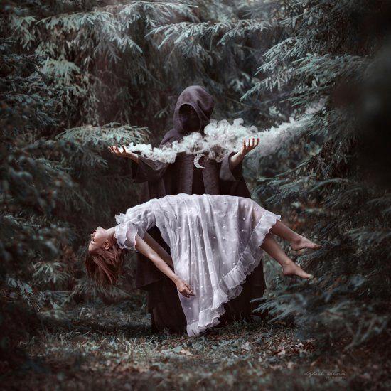 Surrealismo e contos de fada nas fotografias de Irina Dzhul