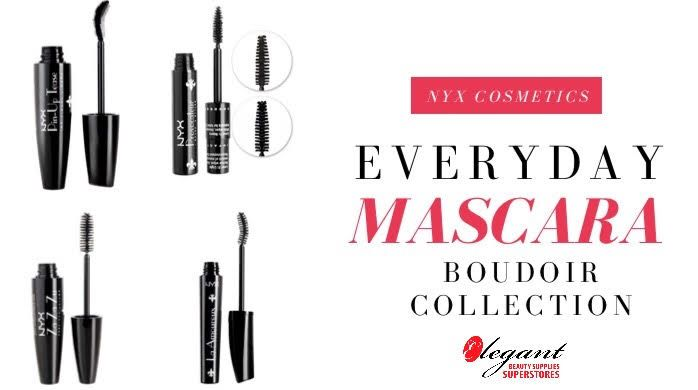The Boudoir Collection is a must! Treat those lashes ladies!  Available on our website at http://ss1.us/a/fjCAgSKy . #mascara #nyx #boudoircollection #makeup #longlashes #elegantbeautysupplies #online #shop #sale #discounts