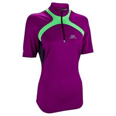 Trail running Running - T-shirt trail running donna Kapteren viola KALENJI - Abbigliamento running