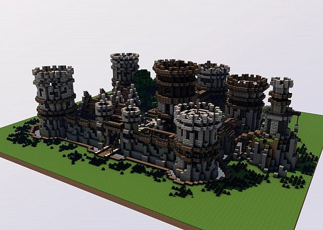 how to build a medieval castle contest minecraft blog minecraft