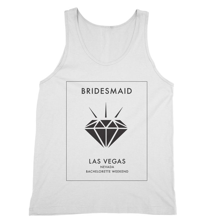 Nevada – My Main Tees Your bachelorette weekend in Vegas is about to get a whole lot better in these sleek bridal shirts.