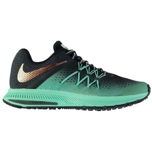 Nike Zoom Winflo 3 Shield Ladies Running Shoes ($77) ❤ liked on Polyvore featuring shoes, nike shoes, nike footwear and nike