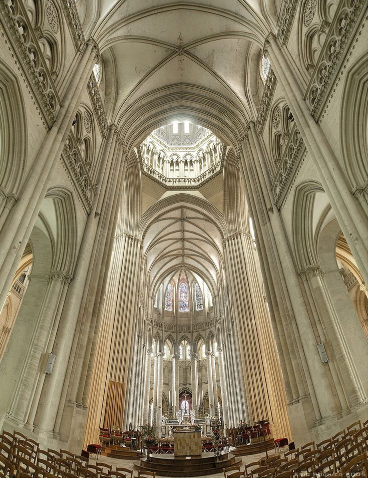 Coutances Cathedral, Normandy, France