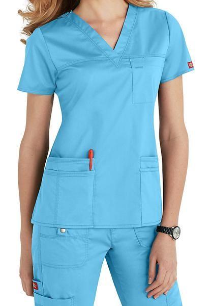 d234ac65448 Dickies Youtility Top V Neck 817455 | Scrubs | Scrubs uniform ...