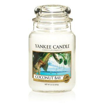 Amazon.com: Yankee Candle 22-Ounce Jar Scented Candle, Large, Sun and Sand: Home & Kitchen