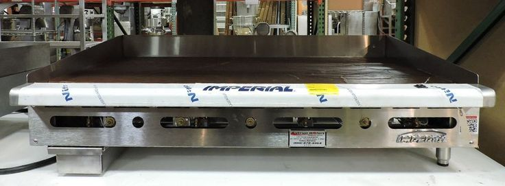 """Imperial ITG-48 Commercial 48"""" Thermostat Gas Griddle #ImperialRange"""