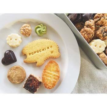 大人気のハリネズミクッキーにはロゴ入れが可能とのことです♪可愛い形は子どもも喜ぶこと間違いなしですよね!注文の際には、夏期は製造がお休みになるそうなのでご注意を*