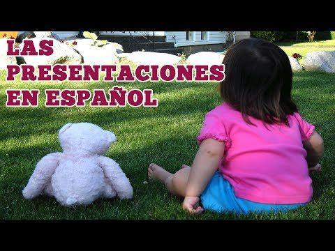 Las presentaciones en español: presentándote a ti y a otras personas - YouTube