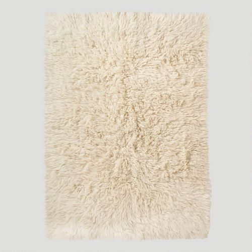 Bedroom rug / World Market - One of my favorite discoveries at WorldMarket.com: Ivory Flokati Wool Rug