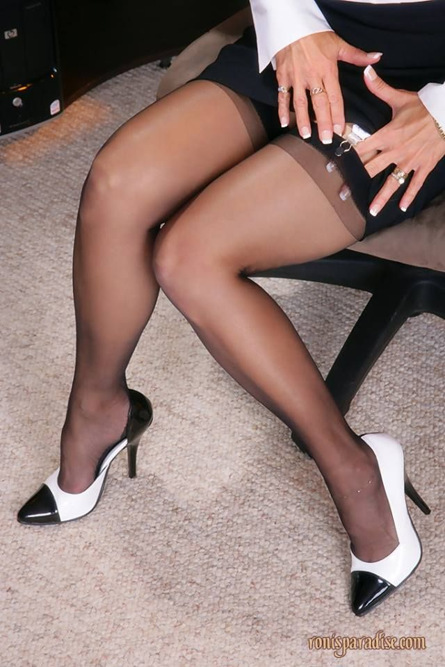 Femmes sexy en nylon, lingerie fine, bas nylon ou collants