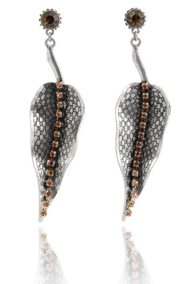 Beeleaf Earrings available at www.stellanemiro.com