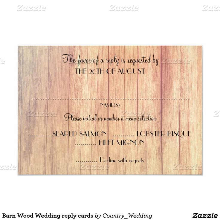 1000 ideas about wedding reply cards on pinterest reception invitations reception card and. Black Bedroom Furniture Sets. Home Design Ideas