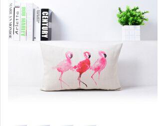 30x50 cm vintage linnen kussen kussenhoes gooi decoratieve kussenhoezen 45 cm 45 cm roze flamingo kussen in  Vintage linnen kussen kussensloop gooien decoratieve kussenhoezen 45cm* 45cm roze flamingo kussensloop &nbs van kussenhoes op AliExpress.com | Alibaba Groep