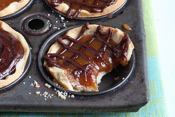 Chocolate and salted caramel tarts – Recipes – Bite