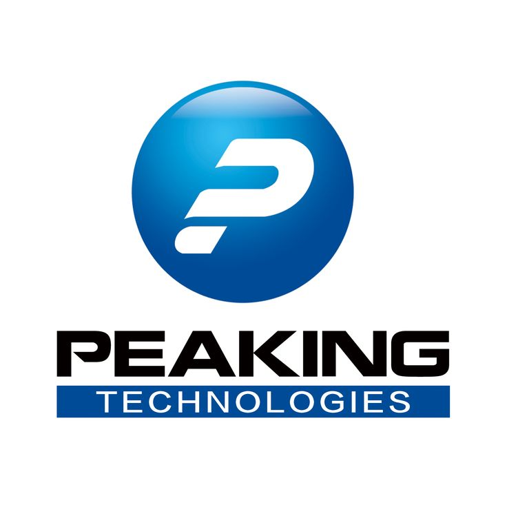 New logo of Peakingtech Co., specialized in design and production of LED grow lights