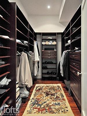 Walk in wardrobe #closet #organization #storage