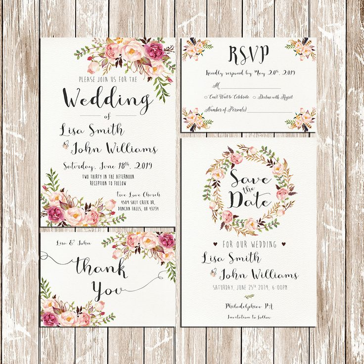 Invito Matrimonio Rustico : Migliori idee su matrimonio acquerello pinterest