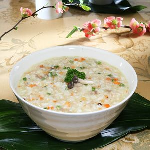 Yachae Jook (Vegetable Porridge) | All about Korea!