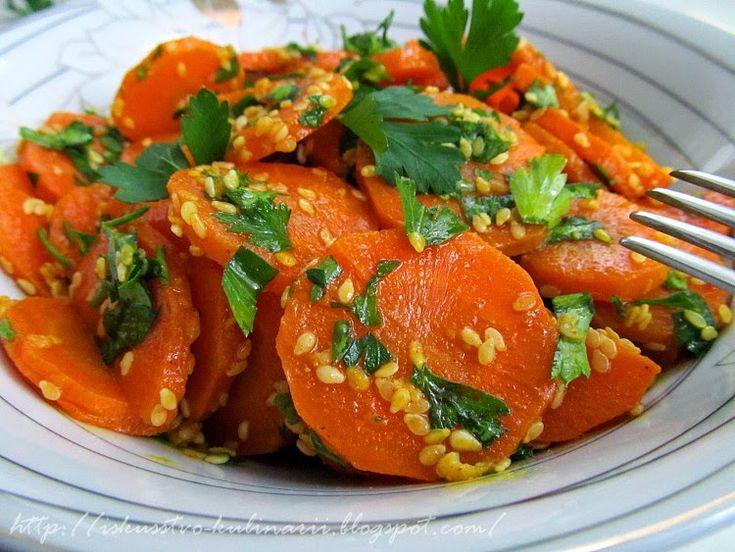 Постигая искусство кулинарии... : Марокканский морковный салат (Moroccan carrot salad)