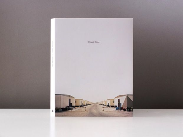 Closed Cities is a collection of photography by Gregor Sailer that focuses on secret towns and artificial urban areas that are hermetically sealed from the outside world, and often don't even appear on maps.  Designed by Manuel Radde.  http://thebookdesignblog.com/book-design-inspiration/closed-cities