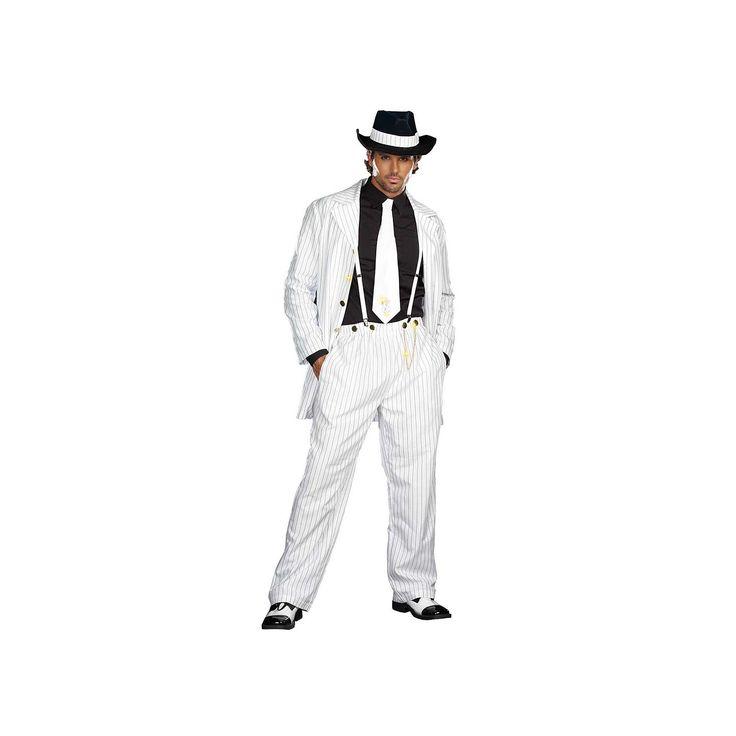 Adult Zoot Suit Riot Costume, Men's, Size: Large, Multicolor