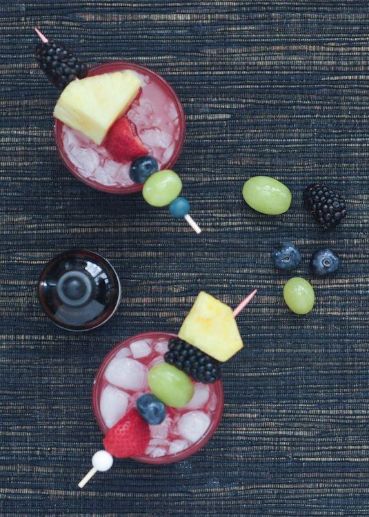 Sparkling Watermelon Ginger Punch by SpaBettie | TodaysCreativeBlog.net