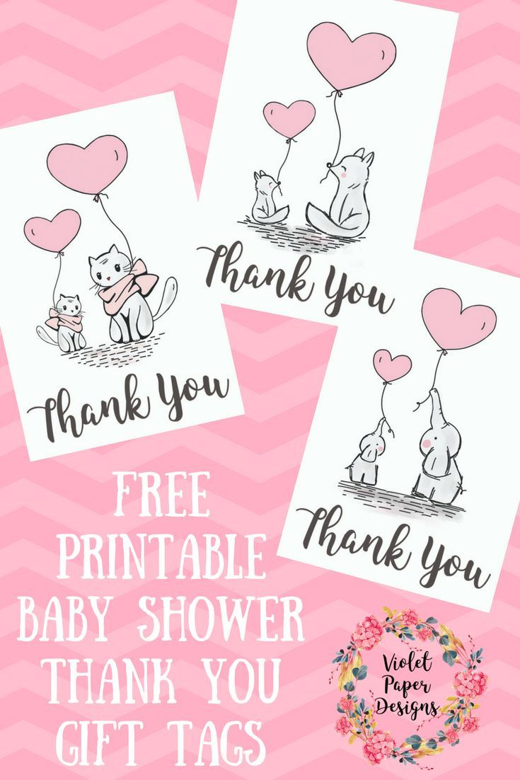 image relating to Free Printable Baby Shower Thank You Tags called Absolutely free Printable Youngster Shower Thank On your own Reward Tags Planners