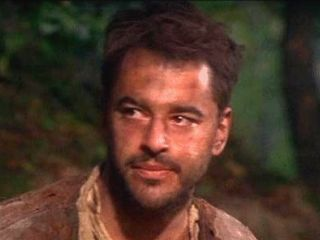 Gil Bellows in the movie Snow White A tale of terror. (He is not cute anymore but still)