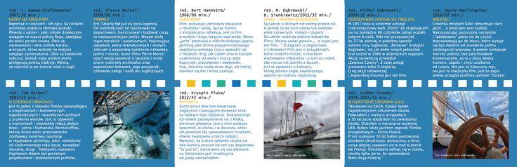 JachtFilm Festiwal 2013 / leaflet