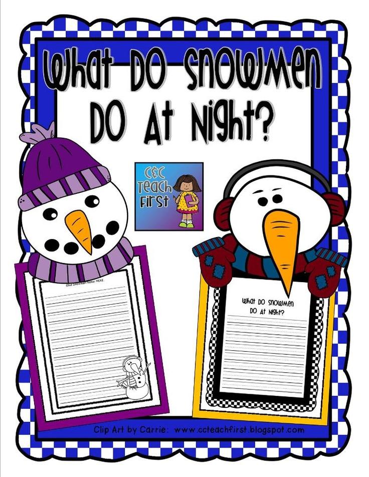 Snowmen at Night Interactive Read-Aloud