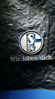 Spielertunnel auf Schalke