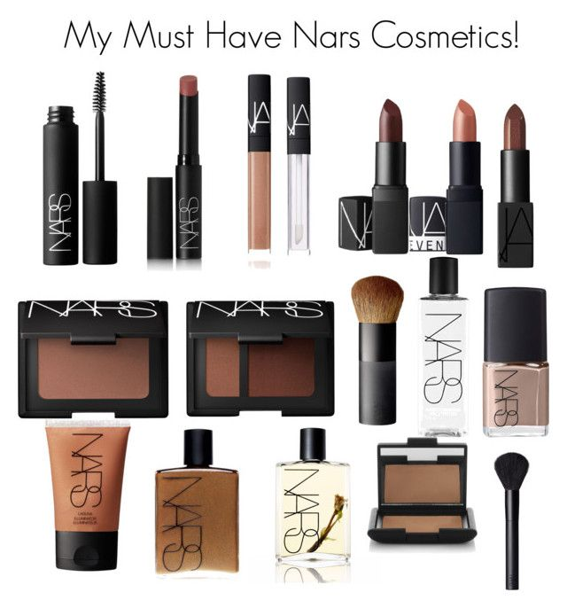 """My Must Have Nars Cosmetics!"" by minadinamike ❤ liked on Polyvore featuring beauty and NARS Cosmetics"