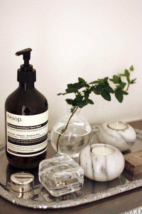 Love AESOP hand soap :)