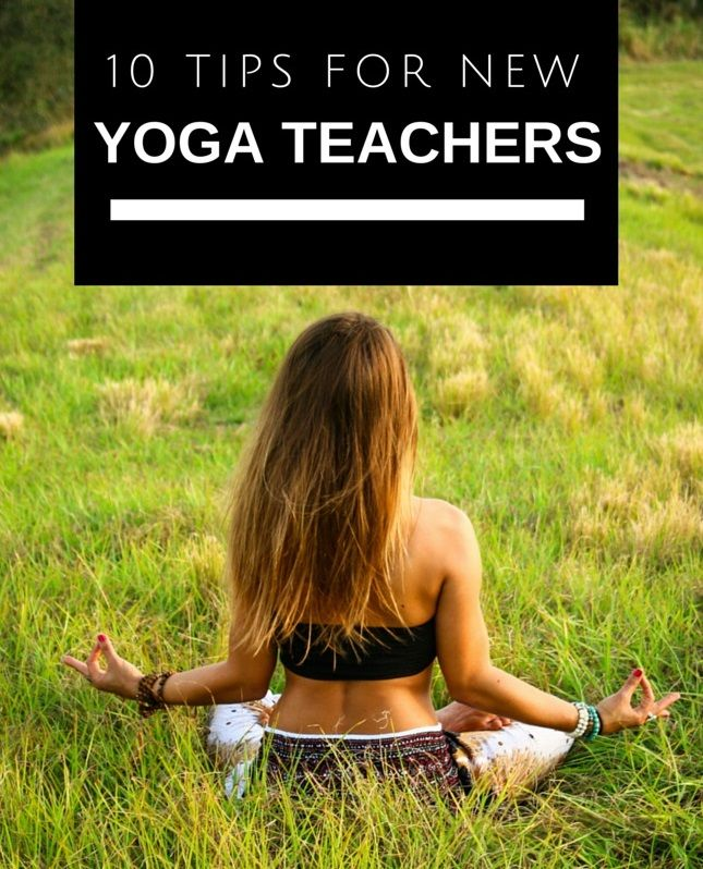A great article for new or aspiring yoga teachers! Pin now, practice later.