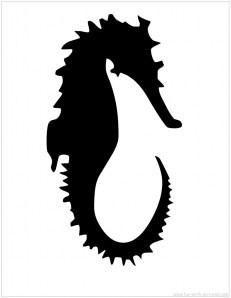 Seahorse Cross-Stitch Pattern