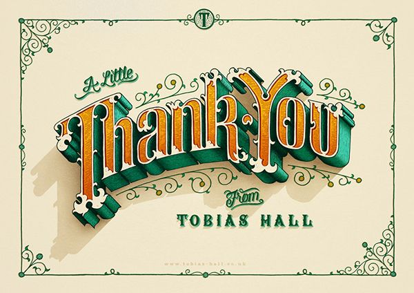 Thank You by Tobias Hall