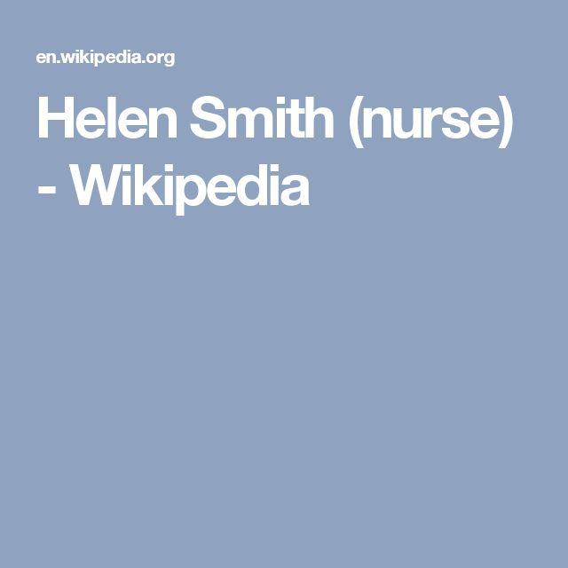 Helen Smith (nurse) - Wikipedia