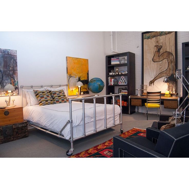 Speedrail Bed For Industrial Bedroom, Cool Or Nay?
